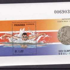 Panama 1989 sport olimpiada MI bl.127 MNH w47 - Timbre straine, Nestampilat