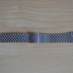 Bratara metalica de ceas, barbateasca - Curea ceas din metal