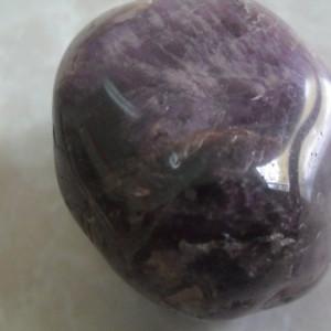 Miez  piatra naturala  ametist fatetata