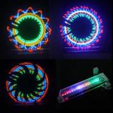 Lumini multicolore 32 leduri pentru spite bicicleta, Faruri si semnalizatoare