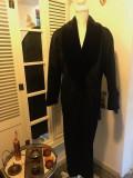 Paltonas lana de dama PORTRAIT, marime L/XL 2+ 1 gratis, Negru