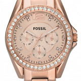 Fossil ES2811 Riley ceas dama nou 100% original. Garantie. Livrare rapida., Elegant, Quartz, Inox, Otel, Ziua si data
