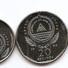 Insulele Capului Verde Set 6 - 1, 5, 10, 20, 50, 100 Escudos 1994 - UNC !!!, Africa