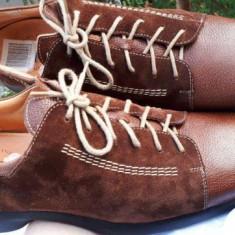 Pantofi barbat Tommy Hilfigeri piele naturala THINK nr.43 NOI, Culoare: Maro