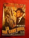 Ilustrata - Afis de Film cu Humphrey Bogart- Dead End