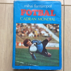 Fotbal cadran mondial mihai flamaropol 1984 carte ilustrata sport fotbal hobby - Carte sport