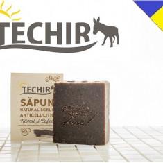 Sapun natural anticelulitic cu namol si cafea Techir 120 gr