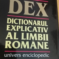 RWX 50 - DICTIONARUL EXPLICATIV AL LIMBII ROMANE - DEX - EDITIA 1998