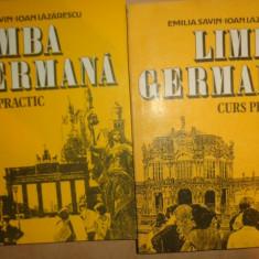 Limba germana curs practic 2 vol./an 1992/880pag- Emilia Savin, Ioan Lazarescu - Curs Limba Germana