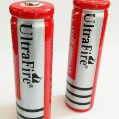 Acumulatori Li-Ion Cilindrici NOI Tip 18650 4800mAh 3.7V - Baterie Aparat foto