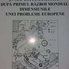 C. IORDAN - MINORITATI ETNICE IN SUD-ESTUL EUROPEAN DUPA PRIMUL RAZBOI MONDIAL - Istorie
