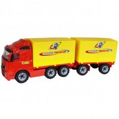 Camion cu remorca si prelata Powertruck 78 cm - Wader