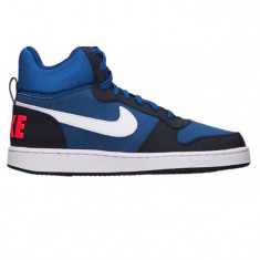 Ghete Adidasi Nike Court Borough Mid-Adidasi Originali 838938-400 - Ghete barbati Nike, Marime: 40.5, Culoare: Din imagine
