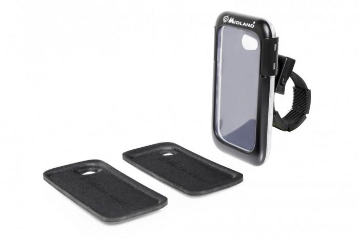 Resigilat : Suport de montaj Moto Midland MK-SMART HC pentru Telefon Cod C1125