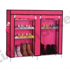 Suport de pantofi pe 5 rafturi - 110 x 30 x 90 cm - Pantofar hol