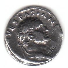 Replica denar Vespasian
