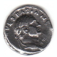 Replica denar Vespasian - Moneda Antica