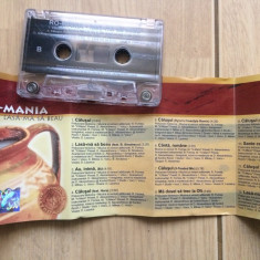 Ro mania lasa ma sa beau caseta audio etno house pop cat music 2001 - Muzica Pop cat music, Casete audio