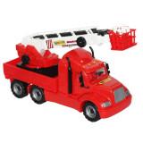 Masina pompieri Mike Wader, Plastic