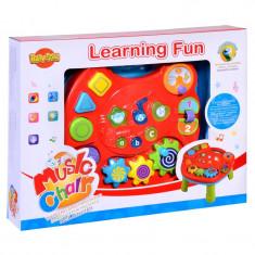 Masuta interactiva Learning Fun, sunete si lumini