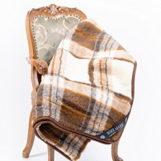 Patura lana merinos, 200x220 cm, model classic