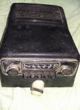 Aparat radio vechi pt. masini epoca/colectie/antica cu carcasa si difuzor origin