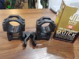 Prinderi rapide individuale pentru luneta 30 mm UTG max 65 mm  - 400 lei