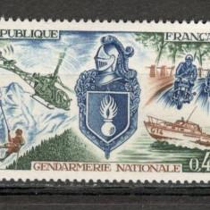 Franta.1970 Jandarmeria SF.235 - Timbre straine, Nestampilat
