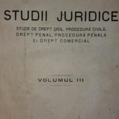 N. GEORGEAN - STUDII JURIDICE - VOL. III