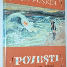 A. S. Puskin - POVESTI - 1980 - Carte de povesti