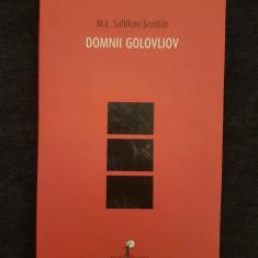 Domnii Golovliov - M.E. Saltikov-Scedrin - Roman