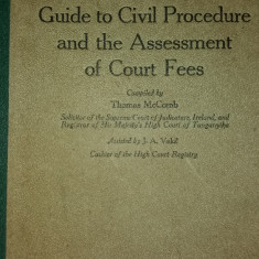 T. MCCOMB - J. VAKIL - GUIDE TO CIVIL PROCEDURE AND THE ASSESSMENT OF COURT FEES