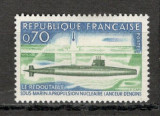 "Franta.1969 Submarinul nuclear ""Redoutable""  SF.229, Nestampilat"