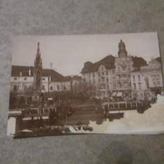 Cp timisoara piata libertatii an 1930 - Carte Postala Banat dupa 1918, Circulata, Printata