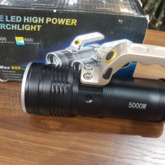 Lanterna Cree Led 5000W - 75 lei