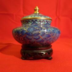 Raritate! CHINA VECHE - Cloisonne - Foarte decorativ - Arta asiatica! - Bibelou vechi