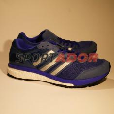 Adidas Adizero Boston Boost 5 -38 2/3EU- produs original, factura si garantie - Adidasi barbati, Culoare: Albastru