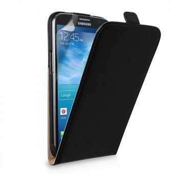 Husa piele FlipCase DELUXE HTC One M9 Plus Negru