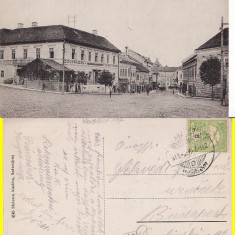 Orastie-Broos, Szaszvaros- rara - Carte Postala Transilvania 1904-1918, Circulata, Printata