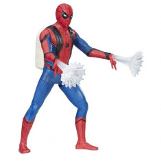 Figurina Spider-Man Homecoming cu Panze Luminoase Hasbro