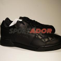Adidasi Reebok LO Plus Quilted 45EU - produs original, factura si garantie - Adidasi barbati Reebok, Culoare: Negru, Piele naturala