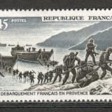 Franta.1969 25 ani debarcarea in Proventa SF.222 - Timbre straine, Nestampilat