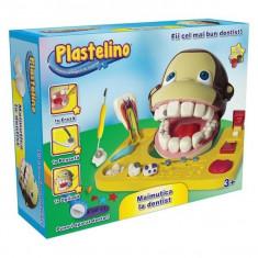 Plastelino - Maimutica la dentist - Jocuri arta si creatie Noriel