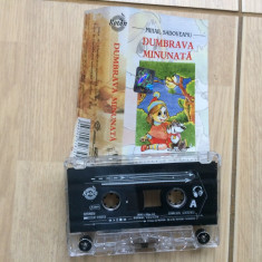 Dumbrava minunata mihail sadoveanu caseta audio poveste pentru copii roton 2003 - Muzica pentru copii roton, Casete audio