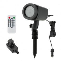 Proiector Laser cu Telecomanda de tip Star Shower Interior/Exterior IP44
