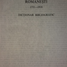 GEORGETA SI NICOLIN RADUICA - CALENDARE SI ALMANAHURI 1731-1918 - DICTIONAR