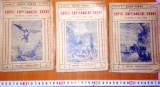 JULES VERNE - Copiii Capitanului Grant ( 3 Vol. ) - Ed.cugetarea - Interbelica