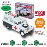 Macheta auto - Land Rover - ambulanta - MS 35