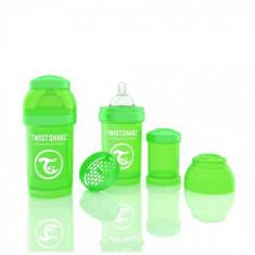 Biberon Anti-colici 180 ml Twistshake Verde DHS