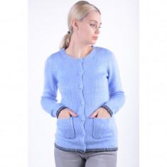 Cardigan Grosut Vero Moda Faith Albastru - Pulover dama Vero Moda, Marime: XS, S, M, L, XL, Acril
